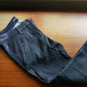 Michael Kors moto jeans